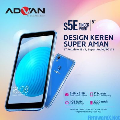 Advan S5E Fingerprint Official Firmware ROM - Latest - FirmwareX Net