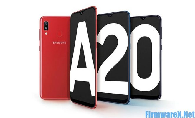 Samsung A20 SM-A205W Android 10 Firmware