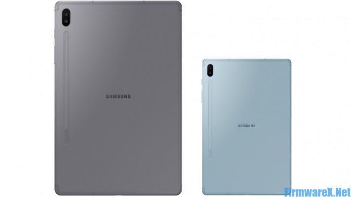 Samsung Tab S6 SM-T867R4 Combination File
