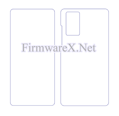 Samsung Note 20 Wrap Skin / PPF Cutting Template (CDR file)