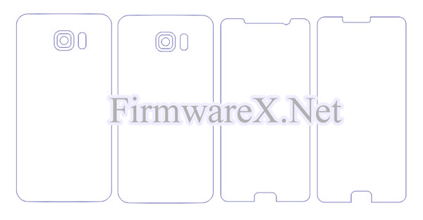Samsung Note 5 Wrap Skin / PPF Cutting Template (CDR file)