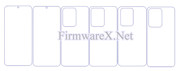Samsung S20 Ultra Wrap Skin / PPF Cutting Template (CDR file)