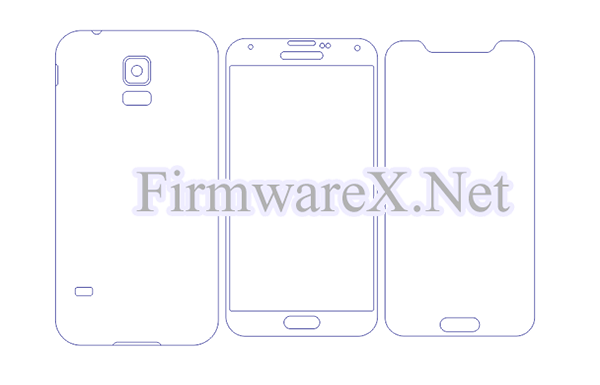 Samsung S5 Full Wrap Skin / PPF Cutting Template (CDR File)