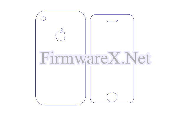 iPhone 2 Skin / PPF Cutting Template (CDR file)